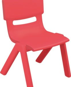 CHAISE MOULEE ROUGE ADULTE