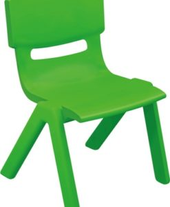 CHAISE MOULEE VERTE ADULTE