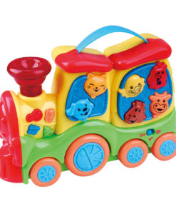 TRAIN ANIMAUX MUSICAL 65316