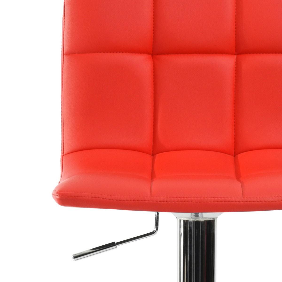 Tabouret design rouge tahiti pas cher for Table exterieur lourde