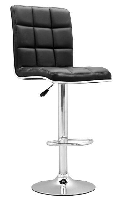 Tabouret design noir tahiti pas cher for Table exterieur lourde