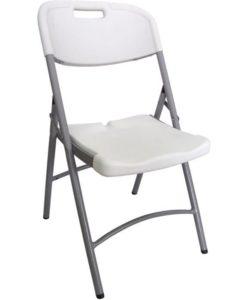 chaise résine pliante
