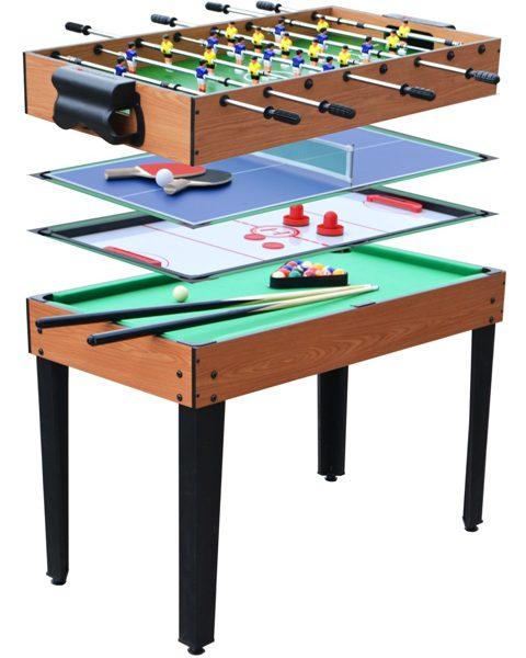 table de jeux 4 en 1 tahiti pas cher. Black Bedroom Furniture Sets. Home Design Ideas