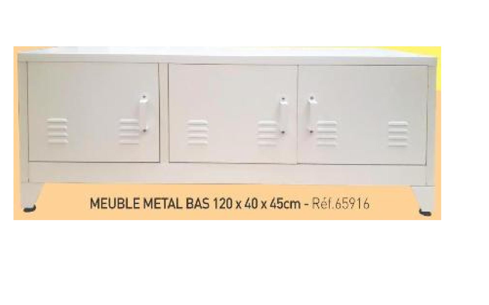MEUBLE BAS 120*40*45 CMS 65916