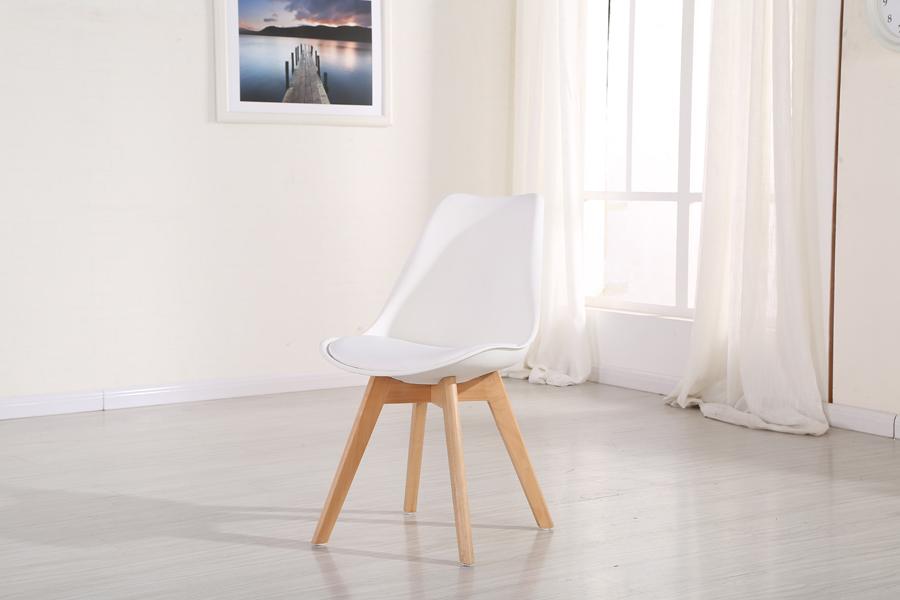 Chaise Pieds Bois Blanc Couss