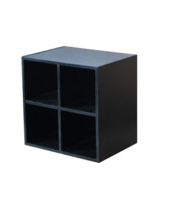 CUBE 4 NICHES NOIR 66374