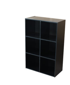 CUBE 6 NICHES NOIR 66378