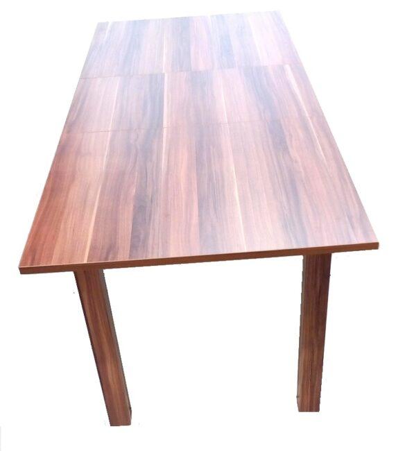 table rallonge coburg noyer tahiti pas cher. Black Bedroom Furniture Sets. Home Design Ideas