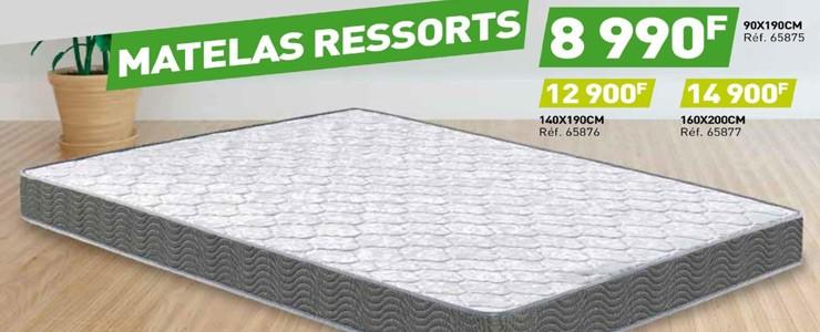 03 - MATELAS RESSORTS